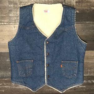 Vintage Levi's vest made in USA